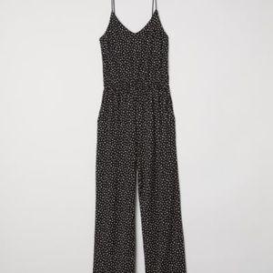 a51f0503f167 H M Pants - H M Polka Dot Jumpsuit